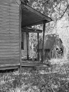 Old Farm House Porch & Shed