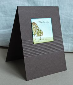 Stampin' Up ideas and supplies from Vicky at Crafting Clare's Paper Moments: Three minute Lovely as a Tree twinchie