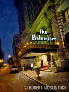 The Belvedere Hotel,  Baltimore, MD where I was presented at the Debutante Ball