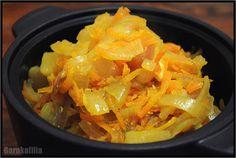 Garnkofilia: CEBULOWO Zero Waste, Cabbage, Vegan, Vegetables, Food, Essen, Cabbages, Vegetable Recipes, Meals