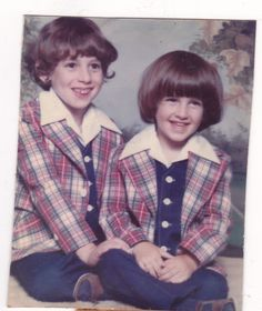 David & Danny, August 1977