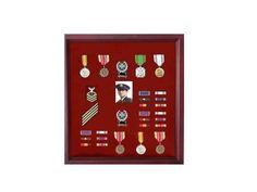 Military Medal Case, Shadow Box Photo Holder | Flag Display Cases, Burial Flag Frames, Flag Medal