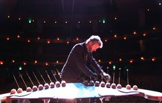 Harnessing Physics in Grand Spaces to Make Music: The Earth harp stretches over huge spaces (even spanning a mountain valley).  Our young harp players from Let's Play Music might enjoy seeing it and comparing to the harp we use in class.