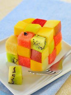 cube fruits salad by laurentiu iordache
