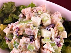 CHICKEN APPLE SALAD | Weight Watchers Recipes