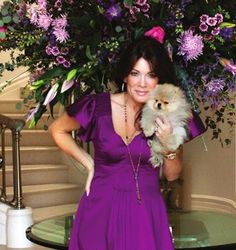 Lisa Vanderpump and Giggy!