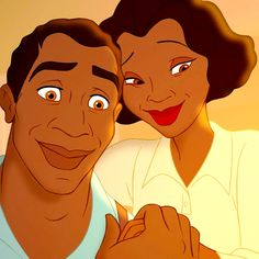 *JAMES & EUDORA (Tiana's parents) ~ The Princess and the Frog, 2009