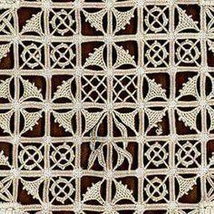 Reticello - corso di base by Guiliana Buonpadre of Filo Filò (via Faragóné… Hardanger Embroidery, Hand Embroidery Stitches, Embroidery Needles, White Embroidery, Embroidery Techniques, Beaded Embroidery, Picot Crochet, Crochet Lace, Crochet Motif