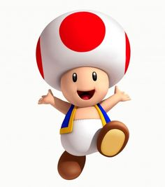 Toad is a single character that is actually part of an entire species, who appears in the Mario series of games. He is usually seen helping Mario in his adventures, although he sometimes does more. His first appearance was in Super Mario Bros. Super Mario Bros, Super Mario 1985, Bolo Super Mario, Super Mario Birthday, Mario Birthday Party, Super Mario Party, Super Mario Brothers, Mario Kart, Mario Und Luigi