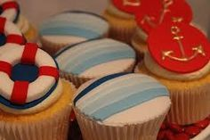 Image result for ocean cupcakes