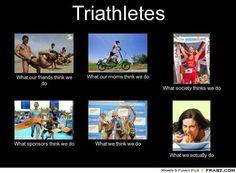 time for triathlon smiles..
