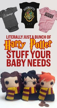 Literally Just A Bunch Of Harry Potter Stuff Your Baby Needs. I'm gonna need a baby to buy all of these for...