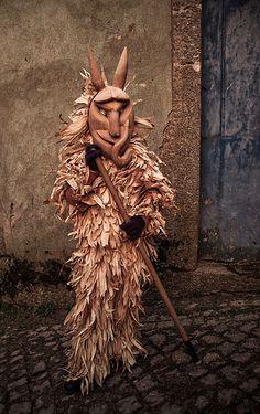 Máscaras del carnaval de Lazarím Portugal