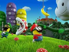 Minions dans Mario