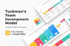 Tuckman's Team Development Model Google Slides Diagrams is a professional Collection shapes design and pre-designed template that you can download and use in your Google Slides. The template contains 12 slides you can easily change colors, themes, Gift Card Presentation, Presentation Skills, Presentation Layout, Powerpoint Presentation Templates, Keynote Template, Color Themes, Colors, Customer Experience, Color Change