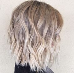 Soft blonde balayage