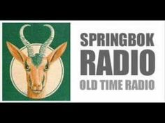 South Africa's old Springbok Radio Union Of South Africa, Mein Land, Old Time Radio, My Childhood Memories, Do You Remember, African History, The Good Old Days, No One Loves Me, Growing Up