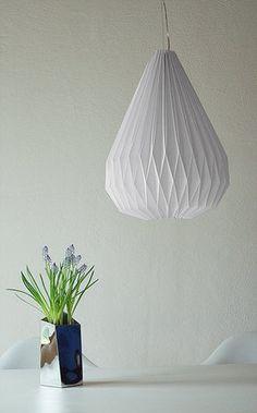 Origami Lampenschirm: Ideen & Bilder