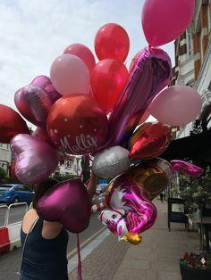 Balloons, Cake, Desserts, Food, Tailgate Desserts, Globes, Deserts, Food Cakes, Eten