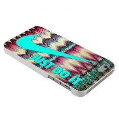 Nike Just Do It Aztex Pattern For iPhone by PanturaLiveCase, $15.00
