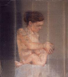 S. mit Kind S. with Child 1995 46 cm x 41 cm Catalogue Raisonné: 827-8 Oil on canvas