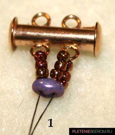Snake Skin SuperDuo Bracelet - Snakeskin Bracelet step by step ~ Seed Bead Tutorials - Seed Bead Bracelets Diy, Beaded Bracelets Tutorial, Seed Bead Necklace, Seed Bead Jewelry, Seed Beads, Jewelry Bracelets, Jewelry Findings, Wire Jewelry, Chain Bracelets