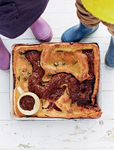 Sobeys | Snake In The Hole~ Jamie Oliver ~Meat Loaf baked into a Yorkshire Pudding, brilliant!