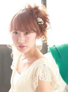 ゆるふわアレンジ 【au-be 表参道店】 http://beautynavi.woman.excite.co.jp/salon/25151?pint ≪ #arrange #hairstyle・アレンジ・ヘアスタイル・髪形・髪型≫