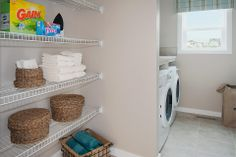 This is a great place to fold and organize the household's clothing.  Excel Homes- Ellerton show home, Heron Point at Reunion, Airdrie