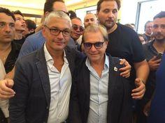 Le rappresentanze sindacali del Trianon danno il benvenuto al direttore artistico Nino DAngelo
