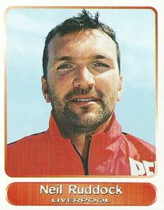 Neil Ruddock Fc Liverpool, Liverpool Football Club, Hard Men, You'll Never Walk Alone, Football Players, Superstar, Legends, Album, Retro