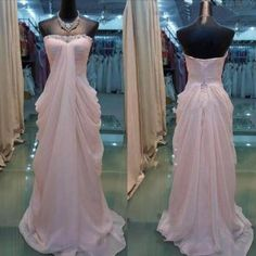 Pink Formal Dresses, Evening Gowns, Party Dresses, #promdress, #prom2k18