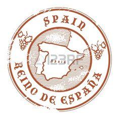 spain passport stamp