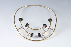 Ettore Sottsass/ Gold Necklace