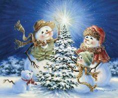 Boneco de neve-Dona Gelsinger