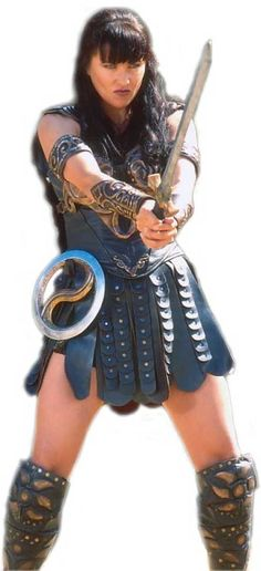 Ok this would be an amazing Warrior Dash costume...Xena Warrior Princess!