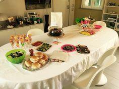 Allestimento festa Viola - Junior Bake off
