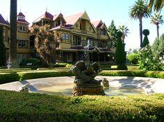 Winchester Mystery House, San Jose, California...  Didn't get to do the tour, so I guess I'll have to go back. :)