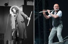 Jethro Tull (1970, 2015) - Tom Copi/Michael Ochs Archives/Getty Images; Mark Holloway/Redferns via Getty Images