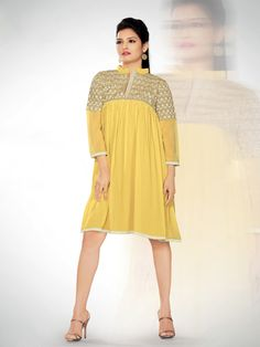 Buy Latest (Georgette Kurtis, Designer Kurtis, Party wear Kurtis, Embroidered Kurtis) Online in India, Best Price Only at Wishcart.in. √Free Shipping √COD