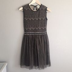 """Black boutique dress Adorable """"made in San Francisco"""" dress. Great condition, falls just above the knee.                Ref#A2703 Made in San Francisco  Dresses Midi"""