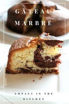 Gâteau marbré #marbré #gâteaux #recettefacile #goûter