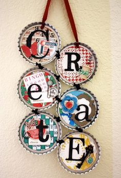 Fun Roadie Bottlecap Project!