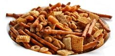 old fashioned nuts and bolts--my mom used Shreddies because Chex weren't available in Canada then.