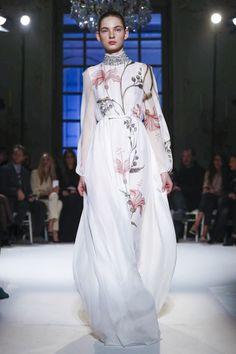 Giambattista Valli Fashion Show Couture Collection Spring Summer 2017 in Paris