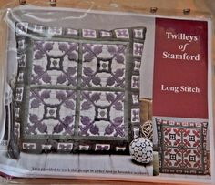 Tapestry Needlepoint kit Long Stitch Pillow TWILLEYS OF STAMFORD Mosaic Tile Des