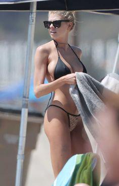 Charlotte Mckinney In Bikini On The Beach In Santa Monica - August 13, 2016