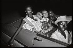 Jean Depara, Evening drive, ca. 1955-1960, from the series Night & Day in Kinshasa