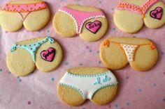 5 Fun Bachelorette Party Ideas cheeky cookies for a lingerie shower Bachlorette Party, Bachelorette Party Cookies, Party Favors, Bachelorette Parties, Bachelor Parties, Bachelorette Supplies, Cowgirl Bachelorette, Bachelor Cake, Favours