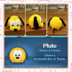 Handmade Tsum Tsum Amigurumi characters from by uDezignCrafts